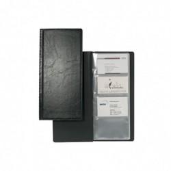DURABLE Album pour 128 cartes de visite VISIFIX plastique Noir