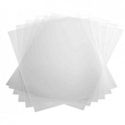 DURABLE Boite de 100 Couvertures reliure A4 Transparente