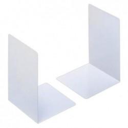 DURABLE Set de 2 Serre-livres en L 16x16x22 cm Acier Gris