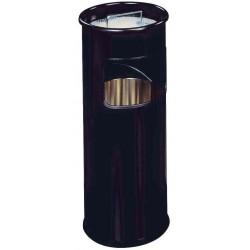DURABLE Corbeille à papier DURABLE METAL, avec cendrier, ronde,