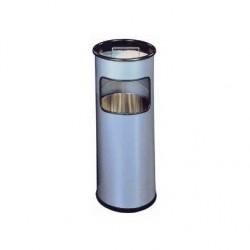 DURABLE Cendrier sur pied en métal avec sable Argent