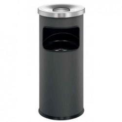 DURABLE Corbeille à papier Cendrier SAFE avec couvercle étouffoir  H 63 cm Diam 25 cm Anthracite