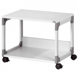 DURABLE table de bureau mobile SYSTEM Multi trolley, 2tables
