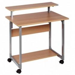 DURABLE Table d'ordinateur SYSTEM Computer Trolley 80 VH, en