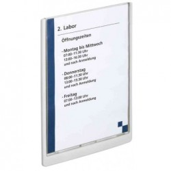 DURABLE Plaque de porte CLICK SIGN, A4, blanc
