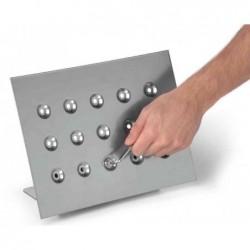 DURABLE présentoir de table DURAVIEW A4 + 1 Cadre Magnétique