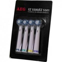 AEG Tête brosse de rechange pour EZ 5500/5501 lot de 4