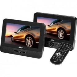 """AEG Moniteur LCD avec lecteur DVD intégré 7"""" (175 mm) + 2ème Moniteurs"""