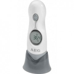 AEG Thermomètre frontal/auriculaire FT 4925, numérique,blanc
