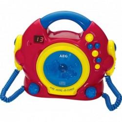 "AEG lecteur CD portable enfants CDK 4229 ""Sing Along"""
