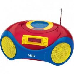 "AEG Lecteur Stereo CD-Radio SR 4363 CD ""Sing Along"""