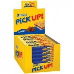 """LEIBNIZ 24 barres de biscuits """"PiCK UP! Choco"""", dans un présentoir"""