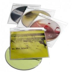"""DURABLE Paquet de 10 Etuis CD-/DVD """"TOP Cover"""" pour 1 CD PP Transparent"""