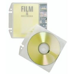 DURABLE Pochette CD/DVD COVER EASY transparente Lot de 10