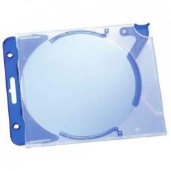 DURABLE Pqt 5 boîtier CD/DVD QUICKFLIP complet