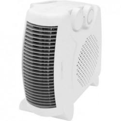 CLATRONIC Radiateur soufflant HL 3379 poignée et thermostat à variation Blanc