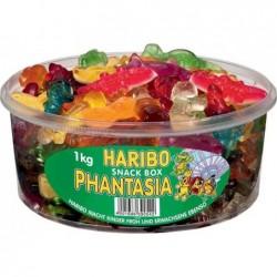 HARIBO Boîte de 1 Kg de bonbons gélifiés aux fruits PHANTASIA