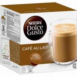 """NESCAFE Dolce Gusto Bte de 16 Capsules de café """"CAFE AU LAIT"""""""