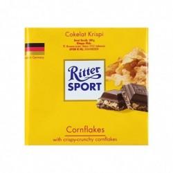 RITTER Tablette de Chocolat Avec Corn Flakes 100g