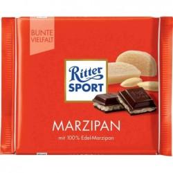 RITTER SPORT Tablette de chocolat PATE D'AMANDE 100 g