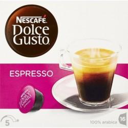 """DOLCE GUSTO Bte de 16 capsules de café """"ESPRESSO"""""""