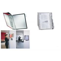 DURABLE Système de présentation SHERPA wall 10, kit complet