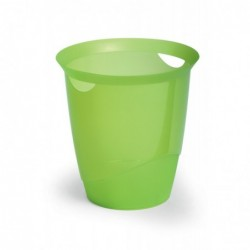 DURABLE Corbeille à papier TREND 16 litres Vert tilleul