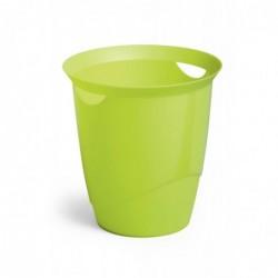 DURABLE Corbeille à papier TREND 16 litres ronde 315 mm H 330 mm Vert