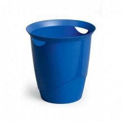 DURABLE Corbeille à papier TREND 16 litres ronde 315 mm H 330 mm Bleu