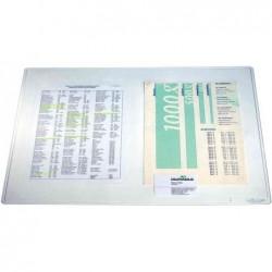 DURABLE sous-mains DURAGLAS transparent souple 650x500 mm