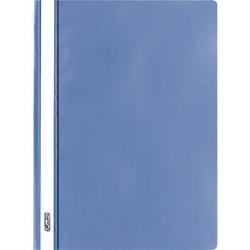 HERLITZ Lot de 10 chemise à lamelle format A4 Polypro Bleu