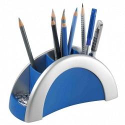 DURABLE Pot à crayons PEN HOLDER VEGAS, argent/bleu