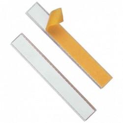 DURABLE Porte-étiquettes Adhésif SCHILDFIX, (l)200 x (H)20 mm Pqt de 10