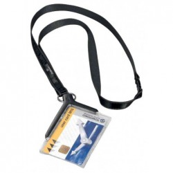 DURABLE Badge CARD HOLDER DELUXE, avec porte-carte Pqt 10