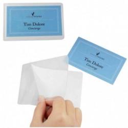 DURABLE Sachet de 10 Pochettes de plastification à froid SEAL IT pour cartes 54 x 90 mm