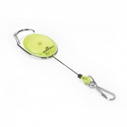DURABLE Porte badge Ovale avec Jojo 80 cm Jaune / transparent