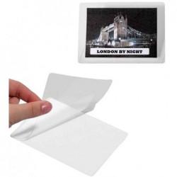 DURABLE Lot de 100 pochettes de plastification à froid SEAL IT 54x90 mm
