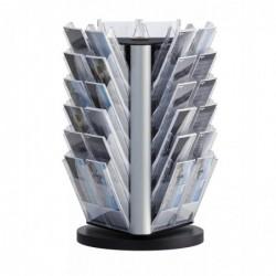 DURABLE Porte-brochures de table COMBIBOXX 36 Compatiments 1/3 A4 XL Transparent