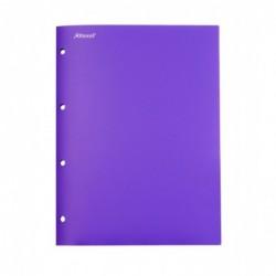 REXEL Advance Chemise de présentation 4 pochettes 236 x 315 mm Pourpre