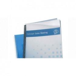 GBC Lot de 100 Plats de couverture PolyClearView A4 500 microns Transparent