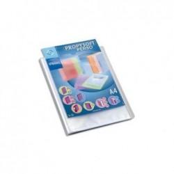 VIQUEL Protège document personnalisable 60 vues, 30 pochettes Propysoft incolore