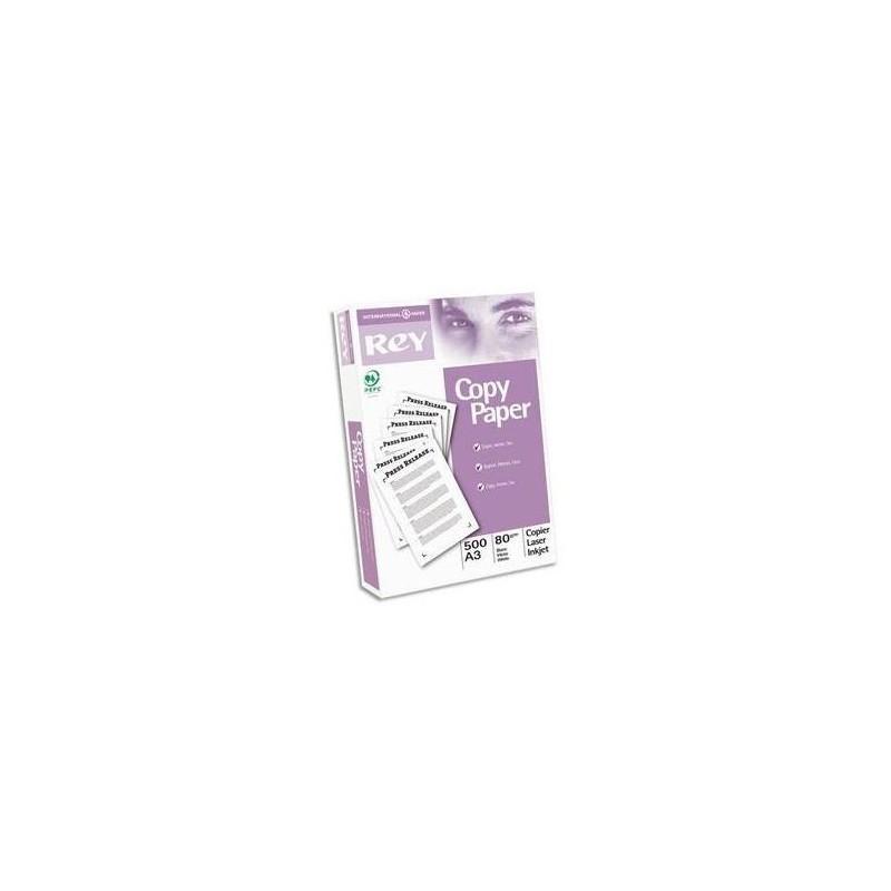 PAPYRUS Ramette 500 feuilles PAPETERIES DE France COPY PAPER A3 80g qualité C+