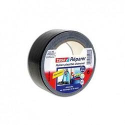 TESA Rouleau de toile adhésive renforcée 25m x 50 mm coloris noir