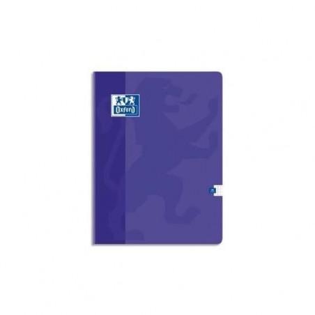 OXFORD Cahier OPEN FLEX piqûre 24x32cm 48 pages 90g 5x5 Couverture polypro assortie