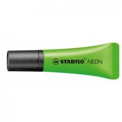 STABILO Surligneur NEON Tendance Pte Biseautée 2- 5 mm vert