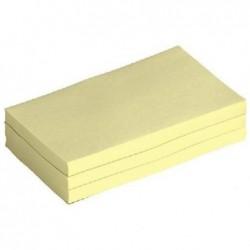5 ETOILES Bloc repositionnable de 100 feuilles 76 x 127 mm jaune