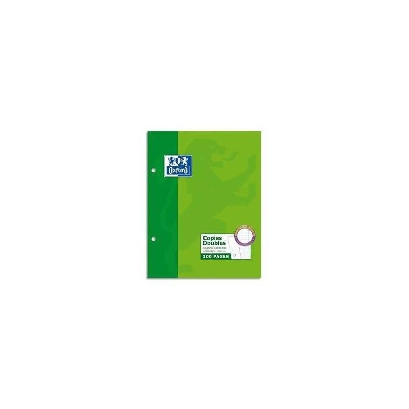 HAMELIN Copies doubles perforées blanches 17x22cm 200pages SEYES 90g Sous étuis carton