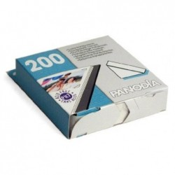 PANODIA Boîte de 200 coins photo adhésifs 10 x 10 mm