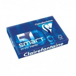 CLAIREFONTAINE Ramette 500 Feuilles Smart 50g A4 210x297 mm Certifié FSC  Blanc