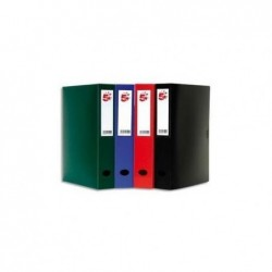 5 ETOILES Boîte de classement dos de 10 cm, en polypropylène 7/10e bleu